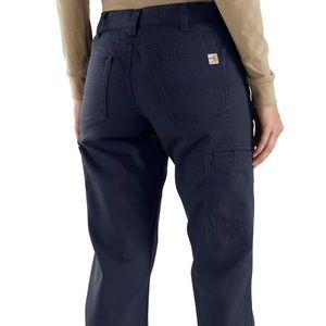 New blue women Flame resistant pants